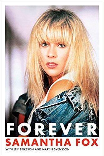 Forever By Samantha Fox Hard Back Signed Sam Fox